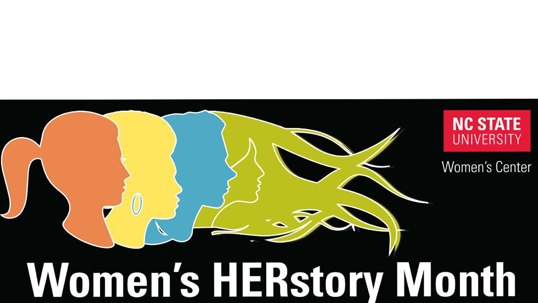 Women's Herstory Month banner