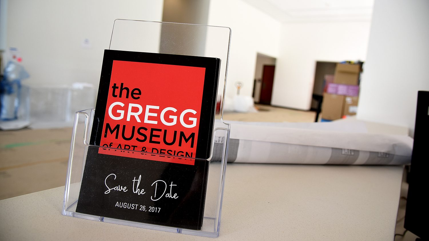 Gregg Museum welcome sign
