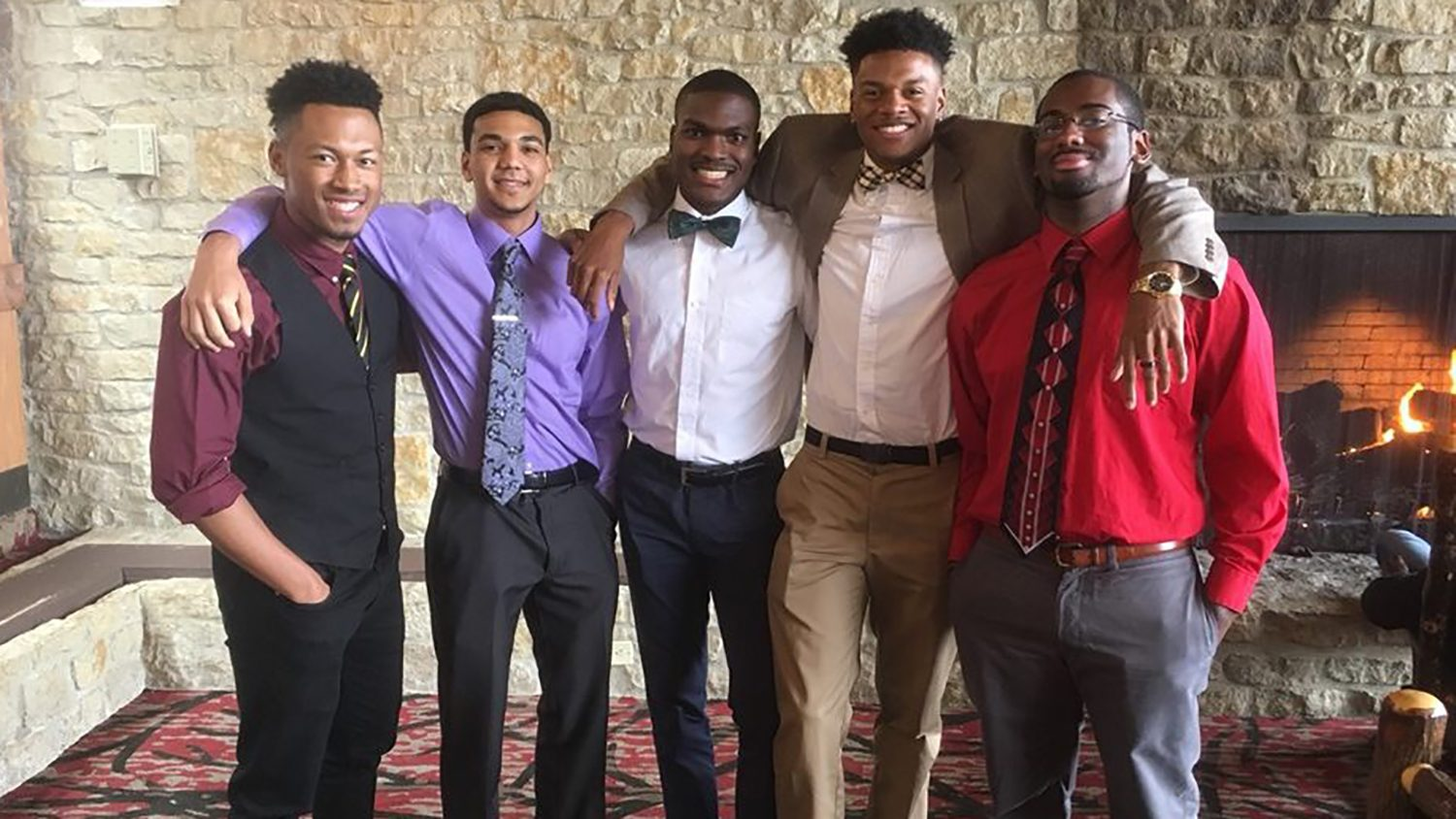 Black Male Initiative students