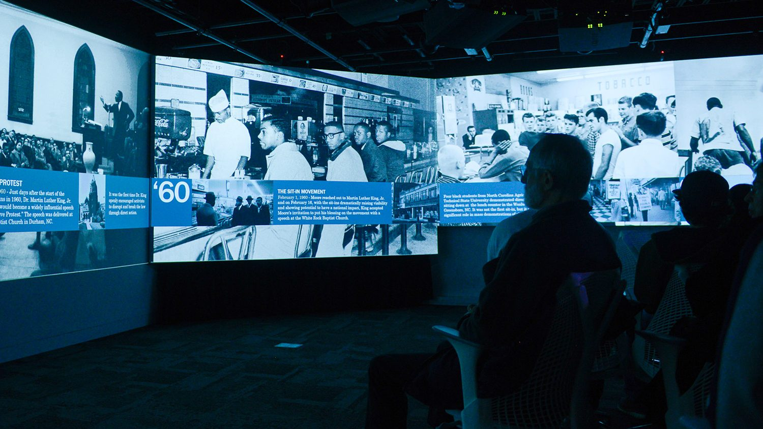 The Virtual MLK project will allow a modern audience to relive history at the Hunt Library.