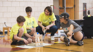 Students Compete in Science Olympiad Tournament