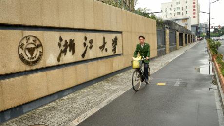Zhejiang University in Hangzhou.