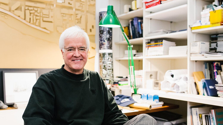 architecture professor Patrick Rand