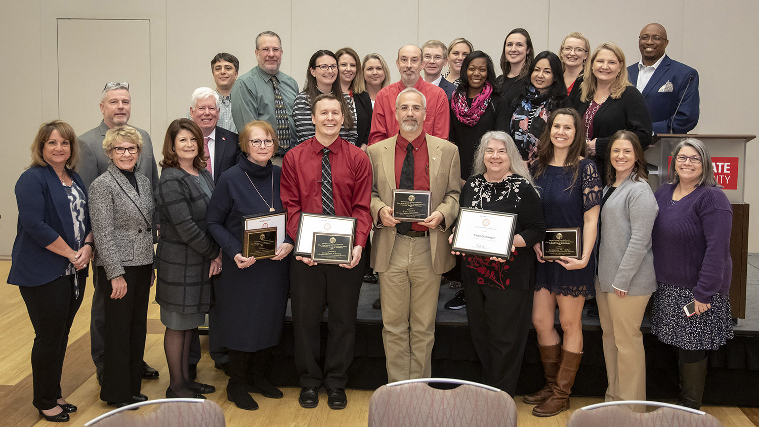 Provost Unit Awards for Excellence winners