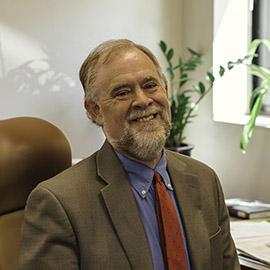 Dean of the Graduate School Peter Harries