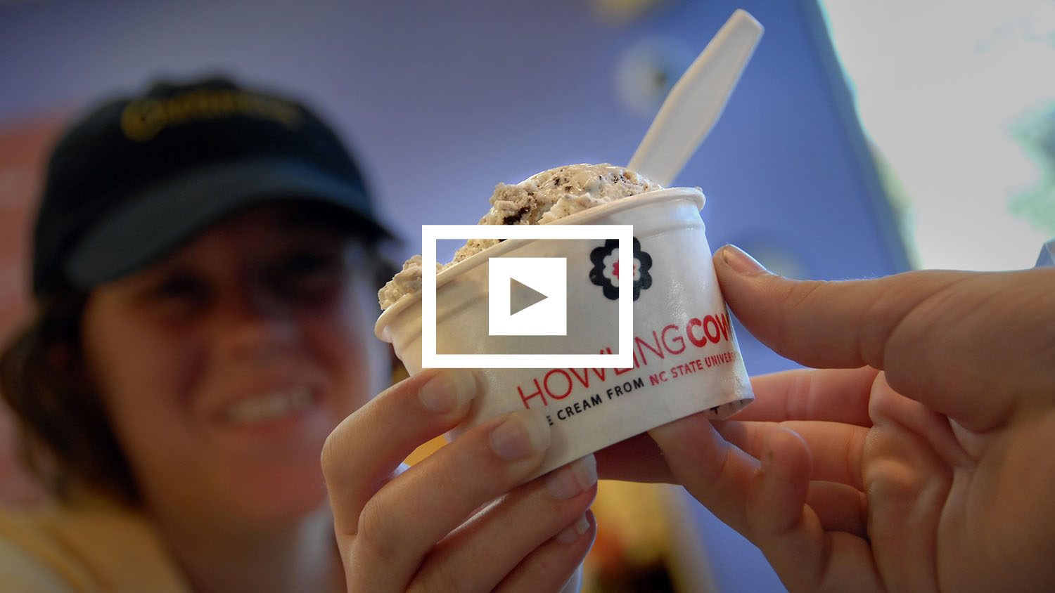 Howling Cow ice cream
