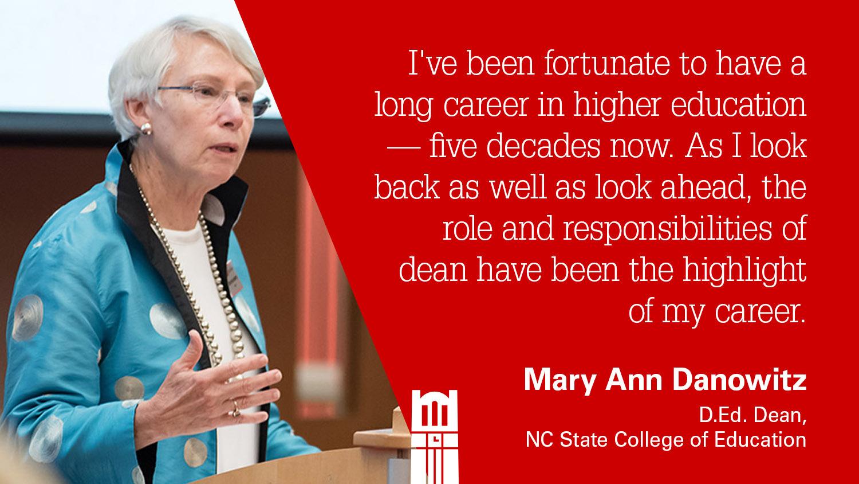Dean Mary Ann Danowitz
